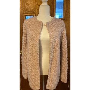 Adrianna Papell Pink Cape Overcoat